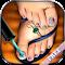 Pedicure Foot Nail Art Salon file APK Free for PC, smart TV Download