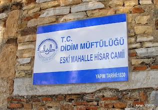 Photo: Eski Mah. Hisar Camii Apollon Tapınağı - Didim/AYDIN - 03.01.2015