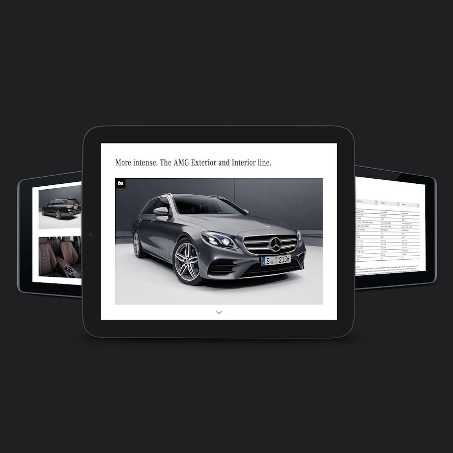 Mercedes-Benz catalogs- screenshot