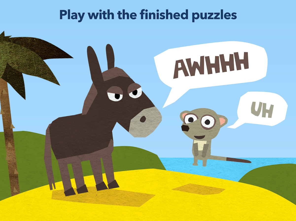 fiete puzzle free kids games with animals android apps on