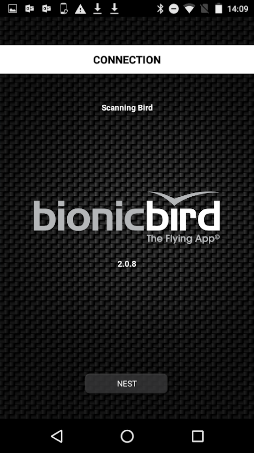 Bionic Bird - The Flying App – скриншот