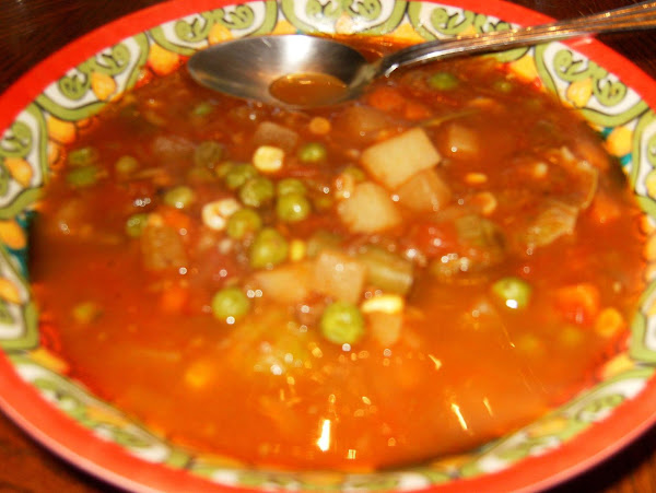 Hearty Homemade Vegetable Beef Soup Recipe