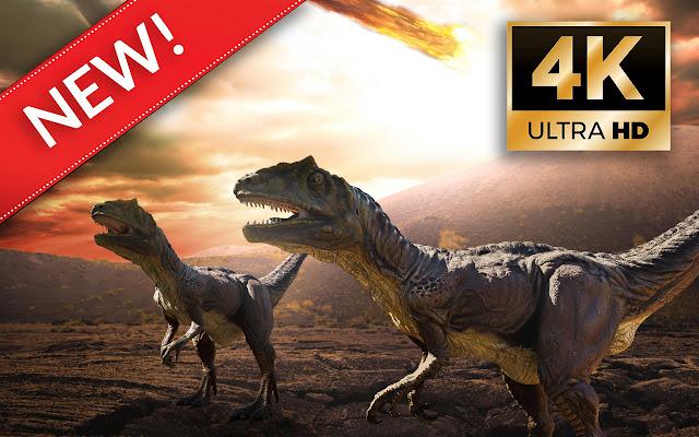 Dinosaurs HD Wallpapers - Custom New Tab