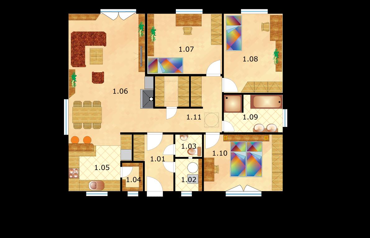 dom-c-46-variant-a-podorysscislovanim