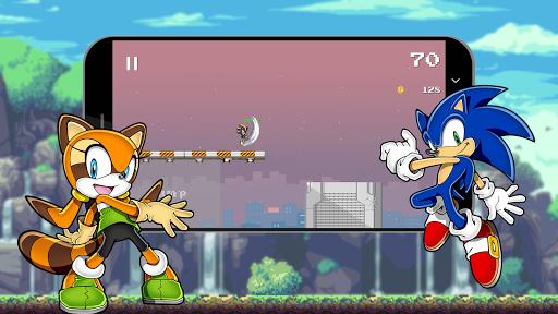 Sonic Classic Dash Runner 2018 1.7 screenshots 3