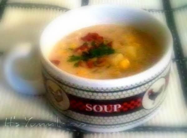 Chef Bec's Kickin' Corn Chowder Recipe