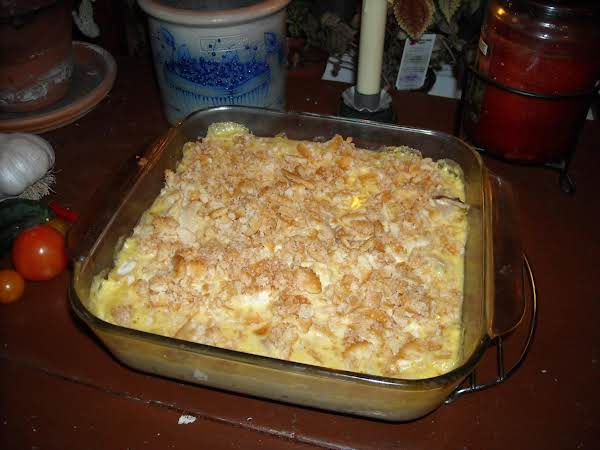 Creamy Chicken And Rice.