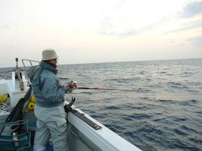 Photo: 真鯛あがってます! がんばりましょう!