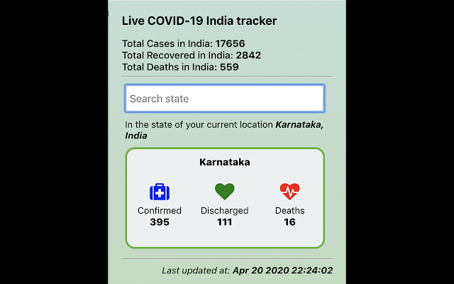 Live COVID-19 India tracker