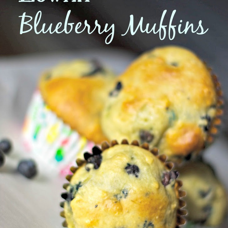 Low Fat Blueberry Muffins Recipe