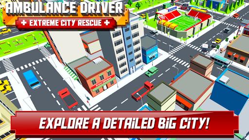 Ambulance Driver - Extreme city rescue 1.0 screenshots 3