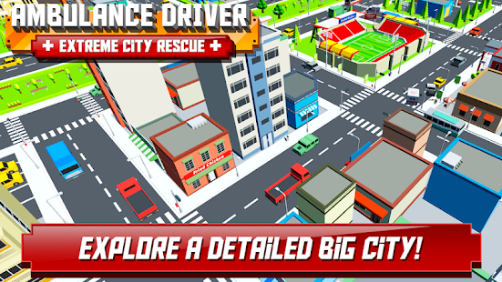 Ambulance Driver – Extreme city rescue 3