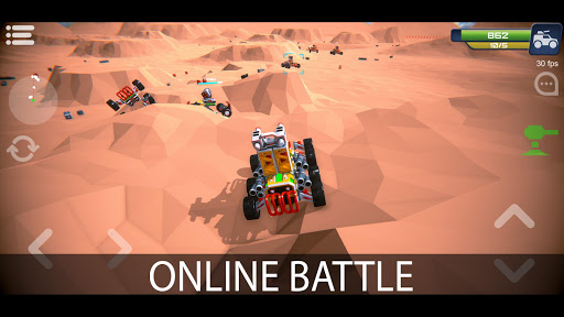 Block Tech : Epic Sandbox Craft Simulator Online apkdebit screenshots 1