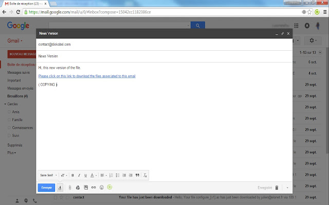 Secure Attachments for Gmail™
