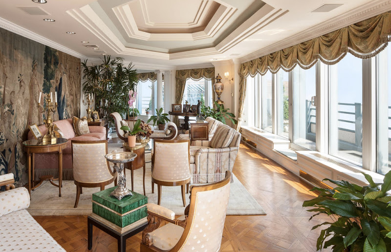 Photo: Occupying the top three floors, this magnificent residence in the sky is the ultimate private getaway, soaring over 70 stories above Manhattan's vibrant and culturally rich Midtown neighborhood. http://search.knightfrank.com/us1507565