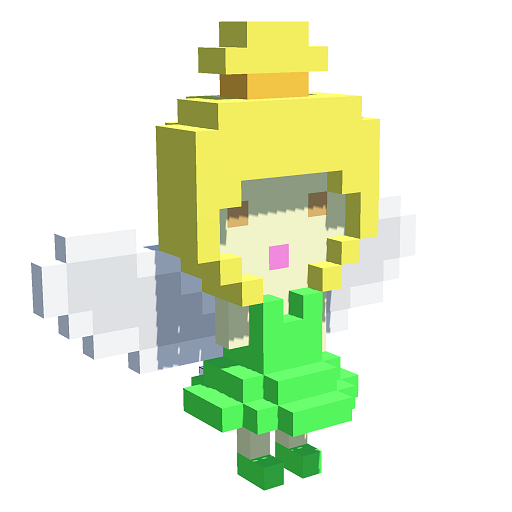 Fairy 3D Color by Number - Pixel Art 3D Coloring Icon
