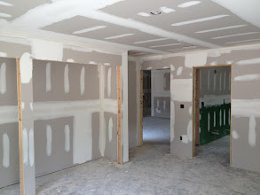 Photo: December 1, 2012 Drywall - bedroom. Photo by Lake Weir Living