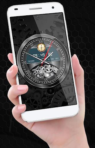 Luxury Watch Analog Clock Live Wallpaper Free 2018 2.3 screenshots 8