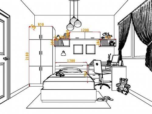 thiết kế phòng ngủ bé gái 2018