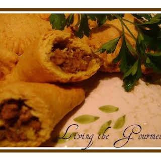 Living The Gourmet Jamaican Beef Patties.