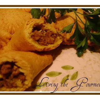 Living The Gourmet Jamaican Beef Patties.