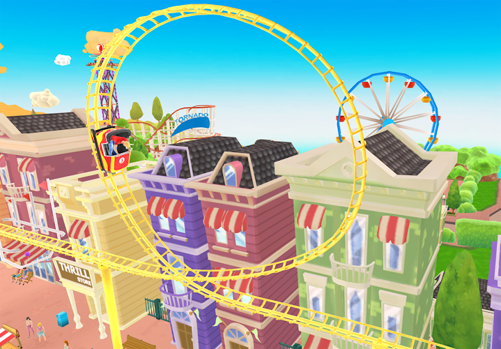 Thrill Rush Theme Park Android App Screenshot