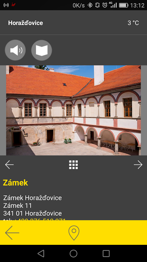 Horažďovice - audio tour- screenshot
