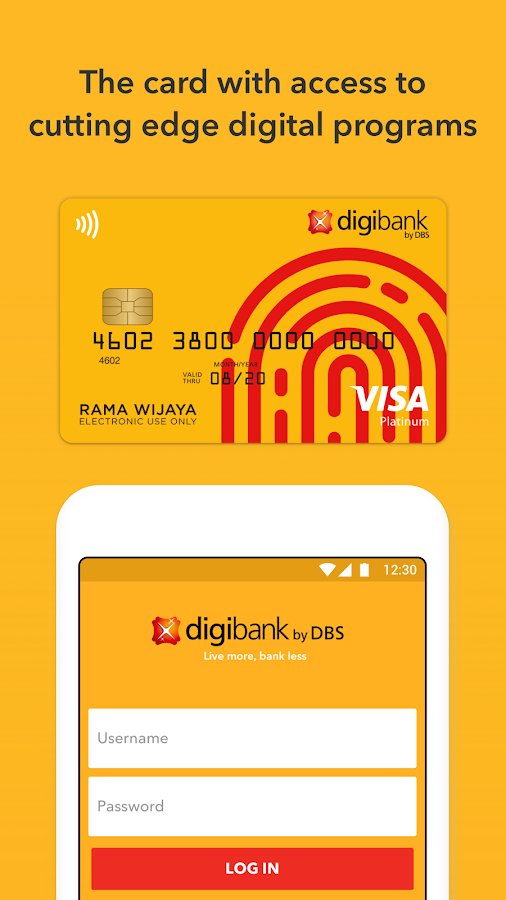digibank by DBS- screenshot