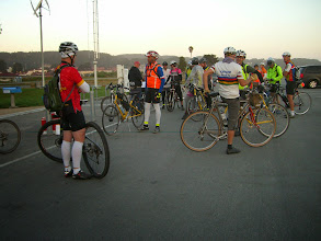 Photo: Many new faces at the start