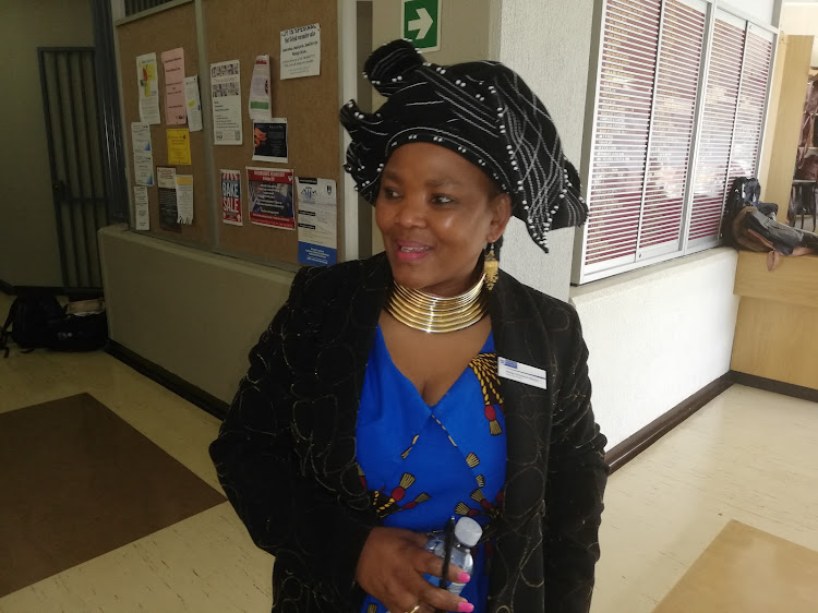 Western Cape health MEC Nomafrench Mbombo. File photo.