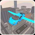 Flying Free Car 3D Simulator icon