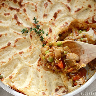 Vegetarian Shepherd's Pie.