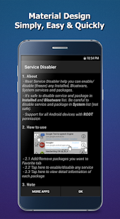 Service Disabler Screenshot