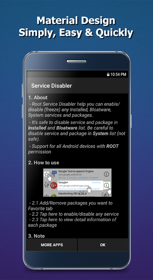 Service Disabler- screenshot