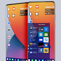 i-OS 14 Theme for Computer Launcher icon