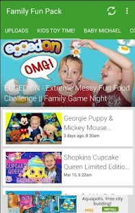 Family Fun Pack Videos Screenshot Thumbnail