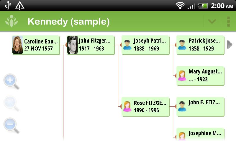 Family Tree Maker - FamilyGTG Screenshot 3
