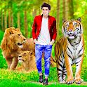 Wild animal photo editor frame icon