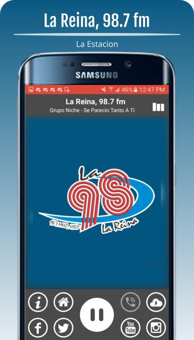 La Reina 98.7 fm- screenshot