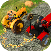 Chained Tractors Games: Real Farmer Simulator 18