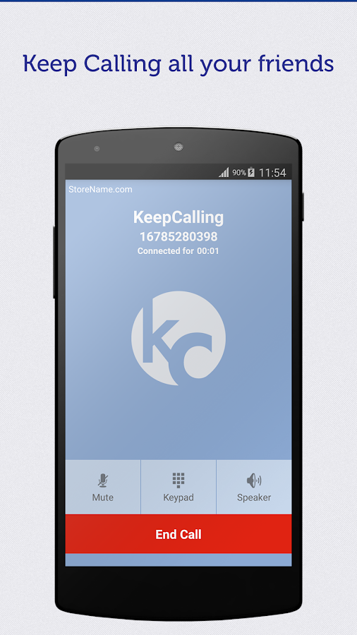KeepCalling – Best Calling App- screenshot