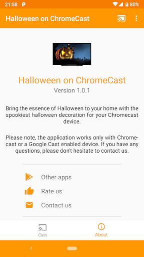 Download Halloween on Chromecast MOD APK 6