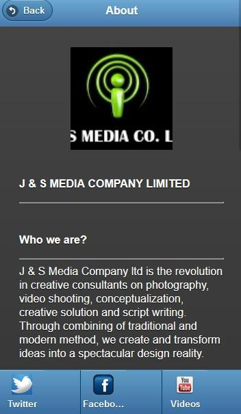 J AND S TV MOBILE APPLICATION- screenshot