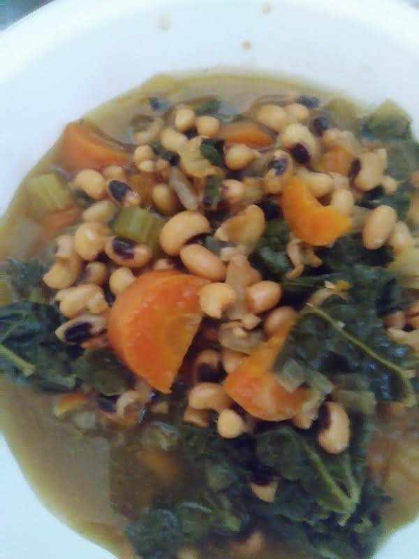 Black Eyed Peas With Swiss Chard Instant Pot Recipe