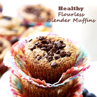 Healthy Flourless Blender Muffins Recipe