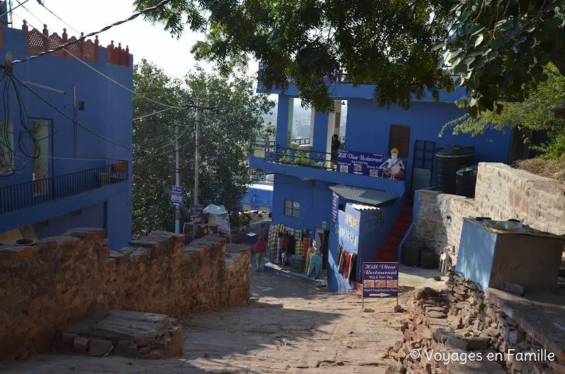 Montée au fort de Mehrangarh