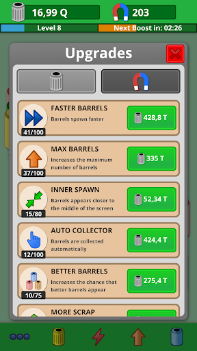 Scrap Collector Idle Game 2.0.2 screenshots 2