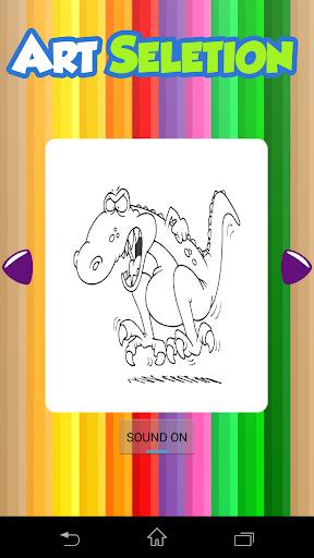 Coloring Book Dino