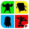 Shadow Quiz Game - Cartoons icon