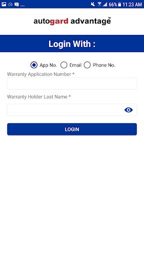 Autogard Advantage - Warranty Holder 3.0 screenshots 1
